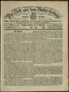 Der Bote aus dem Riesen-Gebirge : Zeitung für alle Stände, R. 102, 1914, nr 76