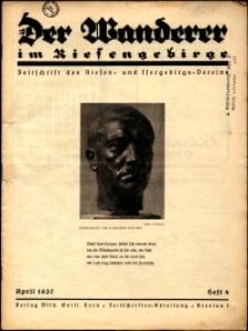 Der Wanderer im Riesengebirge, 1937, nr 4