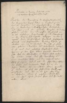 [Ogłoszenie kościelne o ślubie księcia Piotra Birona z księżną Eudoksią Jusupową 1774 r., niemiecki]