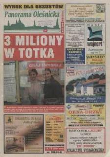 Panorama Oleśnicka: tygodnik Ziemi Oleśnickiej, 2003, nr 31/32 (799/800)