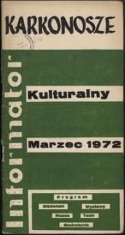 Karkonosze: Informator Kulturalny, marzec 1972