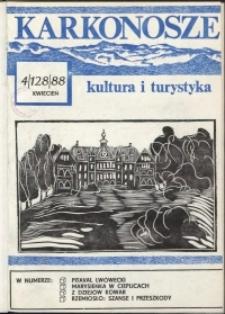 Karkonosze: Kultura i Turystyka, 1988, nr 4 (128)