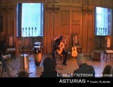 """Utwór """"Asturias"""" Isaaca Albeniza w wykonaniu Łukasza Pietrzaka [Film]"""
