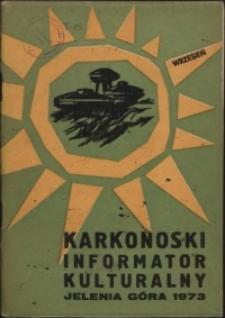 Karkonoski Informator Kulturalny, 1973, nr 9 (79)