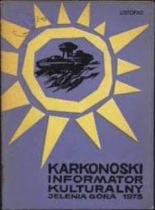 Karkonoski Informator Kulturalny, 1973, nr 11 (81)