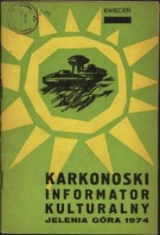 Karkonoski Informator Kulturalny, 1974, nr 4 (86)