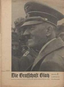 Die Grafschaft Glatz : Illustrierte Zeitschrift des Glatzer Gebirgsvereins, Jr. 38, 1943, nr 1