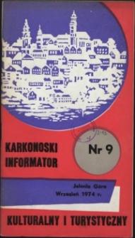 Karkonoski Informator Kulturalny i Turystyczny, 1974, nr 9 (91)