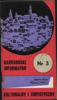 Karkonoski Informator Kulturalny i Turystyczny, 1975, nr 3 (97)