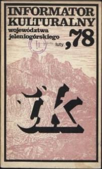 Informator Kulturalny Województwa Jeleniogórskiego, 1978, nr 2