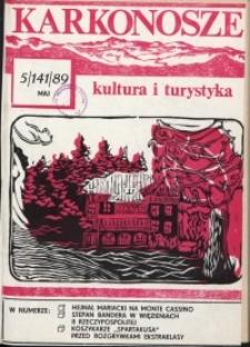 Karkonosze: Kultura i Turystyka, 1989, nr 5 (141)