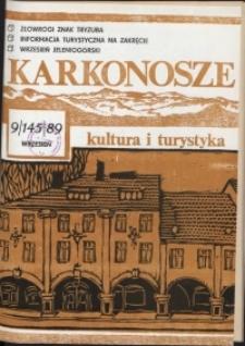 Karkonosze: Kultura i Turystyka, 1989, nr 9 (145)