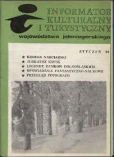 Informator Kulturalny i Turystyczny Województwa Jeleniogórskiego, 1980, nr 1