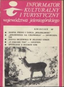 Informator Kulturalny i Turystyczny Województwa Jeleniogórskiego, 1980, nr 4