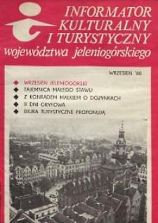 Informator Kulturalny i Turystyczny Województwa Jeleniogórskiego, 1980, nr 9