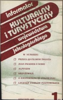 Informator Kulturalny i Turystyczny Województwa Jeleniogórskiego, 1983, nr 1