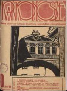Karkonosze : Informator Kulturalny i Turystyczny Województwa Jeleniogórskiego, 1985, nr 10 (98)