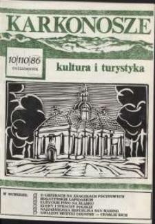 Karkonosze : Kultura i Turystyka, 1986, nr 10 (110)