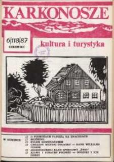 Karkonosze : Kultura i Turystyka, 1987, nr 6 (118)