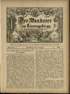Der Wanderer im Riesengebirge, 1888, nr 70