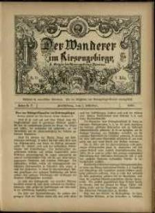 Der Wanderer im Riesengebirge, 1888, nr 72