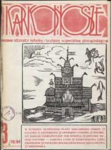 Karkonosze: Informator Kulturalny i Turystyczny Województwa Jeleniogórskiego, 1984, nr 3 (79)