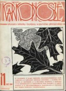 Karkonosze: Informator Kulturalny i Turystyczny Województwa Jeleniogórskiego, 1984, nr 11 (87)