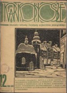 Karkonosze: Informator Kulturalny i Turystyczny Województwa Jeleniogórskiego, 1984, nr 12 (88)