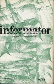 Informator Kulturalny i Turystyczny Województwa Jeleniogórskiego, 1981, nr 6 (52)