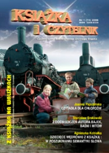 Książka i Czytelnik : czasopismo bibliotekarzy Dolnego Śląska, 2006, nr 1 (74)