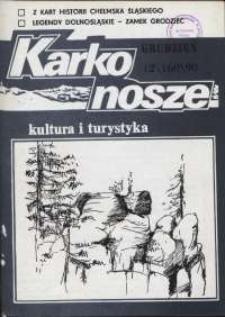 Karkonosze: Kultura i Turystyka, 1990, nr 12 (160)
