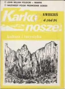 Karkonosze: Kultura i Turystyka, 1991, nr 4 (164)