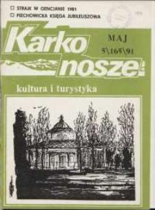 Karkonosze: Kultura i Turystyka, 1991, nr 5 (165)