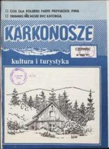 Karkonosze: Kultura i Turystyka, 1991, nr 6 (166)