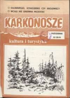 Karkonosze: Kultura i Turystyka, 1991, nr 10 (170)