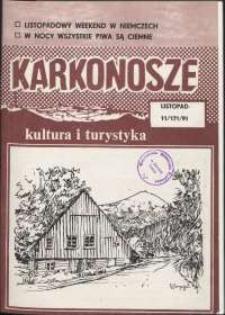 Karkonosze: Kultura i Turystyka, 1991, nr 11 (171)