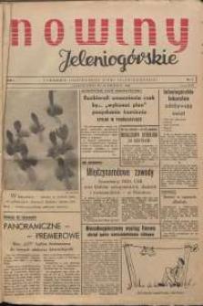 Nowiny Jeleniogórskie : tygodnik ilustrowany ziemi jeleniogórskiej, R. 1, 1958, nr 2