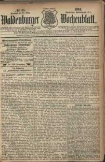 Waldenburger Wochenblatt, Jg. 30, 1884, nr 25