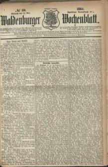 Waldenburger Wochenblatt, Jg. 30, 1884, nr 39
