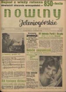 Nowiny Jeleniogórskie : tygodnik ilustrowany ziemi jeleniogórskiej, R. 1, 1958, nr 23