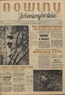 Nowiny Jeleniogórskie : tygodnik ilustrowany ziemi jeleniogórskiej, R. 1, 1958, nr 37