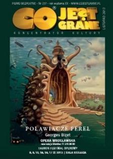 Co Jest Grane : koncentrator kultury, 2013, nr 237 listopad