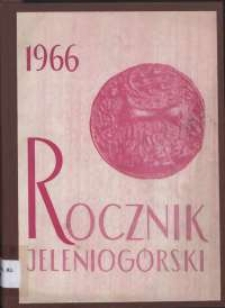 Rocznik Jeleniogórski, T. 4 (1966)