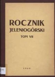 Rocznik Jeleniogórski, T. 7 (1969)