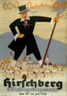 650 Jahrfeier Hirschberg 6. Riesengebirge Woche vom 16.-24. Juli 1938