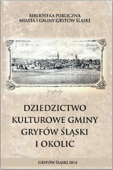 Dziedzictwo kulturowe gminy Gryfów Śląski [Dokument elektroniczny]
