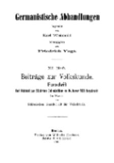 Etymologische Sagen aus dem Riesengebirge [Dokument elektroniczny]