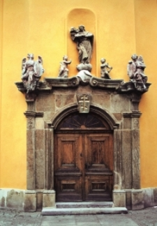 Jelenia Góra, cerkiew św. Apostołów Piotra i Pawła - portal [Dokument ikonograficzny]