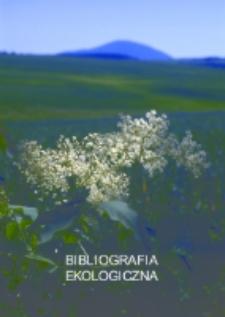 Bibliografia ekologiczna : spis artykułów z czasopism za lata 2005-2008 [Dokument elektroniczny]