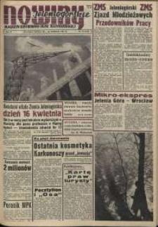 Nowiny Jeleniogórskie : magazyn ilustrowany ziemi jeleniogórskiej, R. 4, 1961, nr 16 (160)